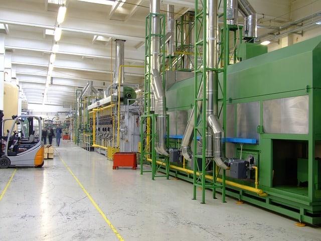 czyszczenie maszyn produkcyjnych