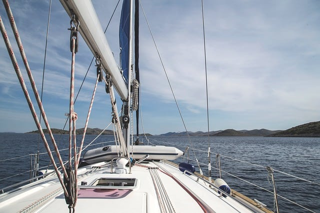 Ozonowanie łodzi i jachtów