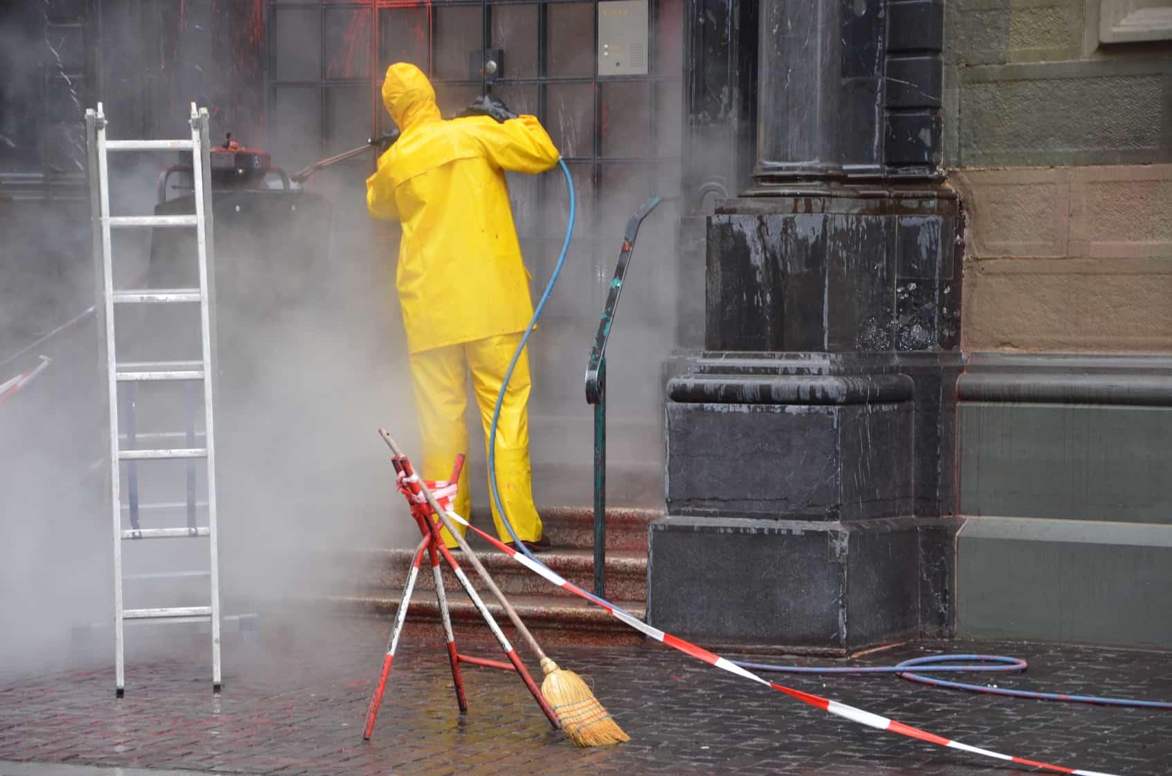 Usługi sprzątania przestrzeni publicznych